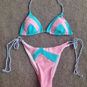 Ladies Cotton Candy Bikini